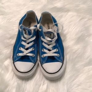 (Converse) blue fashion sneakers shoes